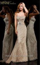 2013 Hot Sale Custom Sexy Lace Sweetheart Beaded Floor Length Chiffon Formal Evening Dress