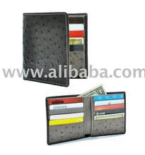 Genuine ostrich skin wallet - Spring / Summer 2010 Collection