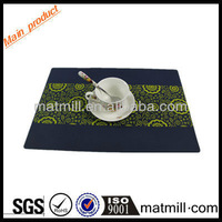 Good Stability Soft 1mm Thickness Heat Protection Silicone Placemat