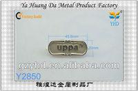 custom design metal detectable labels for bag