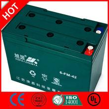 Hot! 12v leisure battery for caravan 6-FM-42/CE UL ISO QS