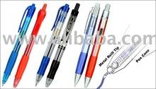 Gel Pen and Gel Pen Refill cartridge
