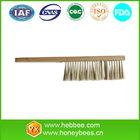 beekeeping wood handle horsehair brush
