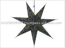 Handmade paper star Lanterns / paper star/ paper lanterns