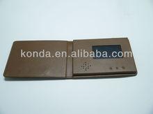 4.3 LCD video advertising in custom printing