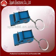 led car key chain light with custom logo,key chain tag