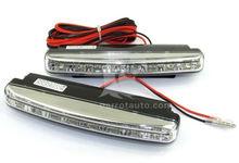 Lowest price 16 LED car drl running lights turn signal