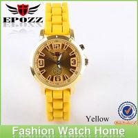 Epozz Waterproof women watches top brand 2013 slicone geneva wrist watches wholesale