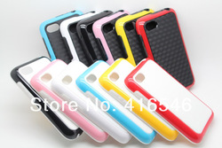 New Dual Color PC TPU Case for BlackBerry Q5 Back Cover