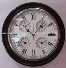 Antique style five time wooden clock
