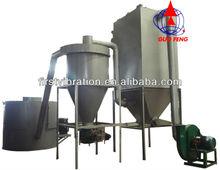 Vibrator screen machine for calcined soda