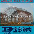 BV proved camp steel building