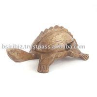Wooden croaking turtle