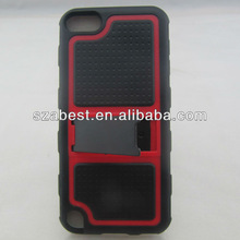 for Ipod Touch 5 Case , Belt Clip Heavy Duty Defender Protector Case
