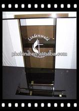 Rd-576 venda quente desktop acrílico púlpito; púlpito da igreja pedestal; digital púlpito