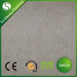 Factory hot selling loose lay anti-slip waterproof vinyl floor tile polish