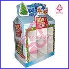 Supermarket used POP Carton Cardboard floor e paper display