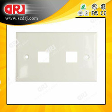 86*120 type 2ports faceplate