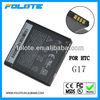 High Capacity Battery for HTC X515M X515D BG86100 G17 EVO 3D