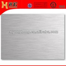Elevator decoraction brushed aluminum sheet