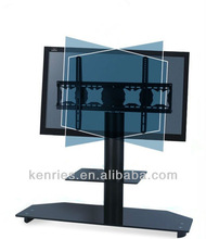 foshan glass display cabinet lcd/plasma glass tv cabinet