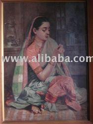 Canvas paintigs, Metal Sculptures, Indian Miniatures