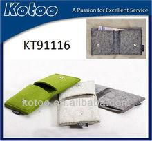 cheap wool felt wallet wholesale felt bag