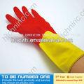 La sécurité des gants de travail. Coton blanc gants de la main. Gants de pompier