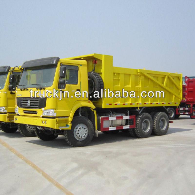10 Wheels Howo Dump Truck