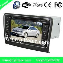 Skoda/ 2013 Superb car gps dvd system