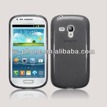 Smoke Black Skin Gel TPU Case for Samsung Galaxy S3 Mini i8190