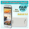 New Arrival phone MTK6589T Quad Core Android 4.2 mobile phone Pulid F13 32GB rom