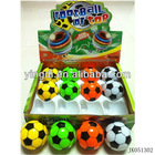 Footaball top plastic spinning top toy toy tops light music