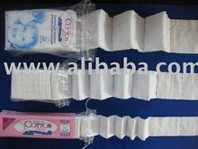 Pre-cut cotton pads