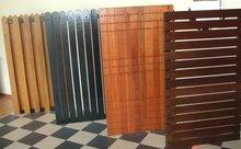 Stylish wood gate
