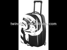24 inch Audrey Hepburn portrait trolley luggage