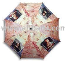 """""""Da vinci"""" famous painting long size automatic umbrella"""