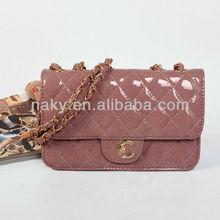 2013 Channel handbags in patent calfskin CC designer fashion women handbags patent leather bags