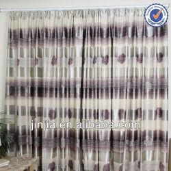 M3014 turkish design both sides print blackout window curtain pattern