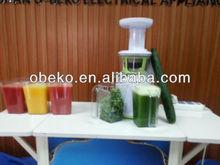 Multifunctional masticating juicers slow juicer