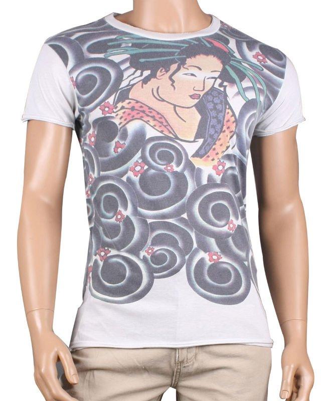 See larger image Geisha Tattoo TShirt Add to My Favorites