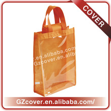 Wholesale transparent shopping bag high quality blank non woven bag