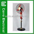 12v 16 polegadas ventilador recarregável bateria powered condicionador de ar