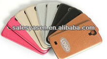 PU leather cover bluetooth keyboard case for samsung galaxy s4