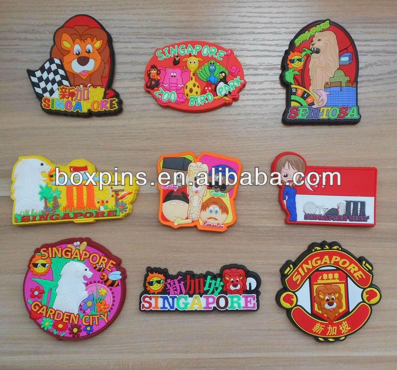 country landscape souvenir rubber fridge magnet