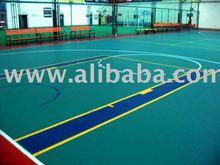 PVC Basketball Sports Court Flooring