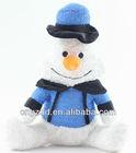 Christmas Gift plush toy&staffed toy penguin christmas plush snowman