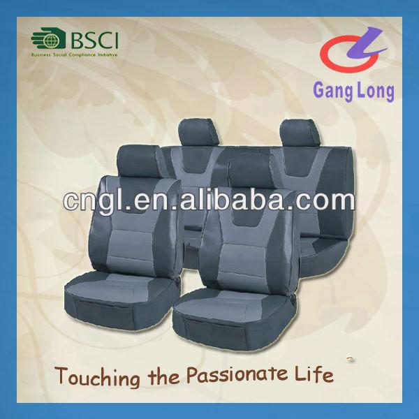 luxury leather auto car seat cover design
