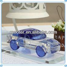 2013 Beauty Deep Blue Crystal Car Model For Wedding Souvenir & Decoration Favor