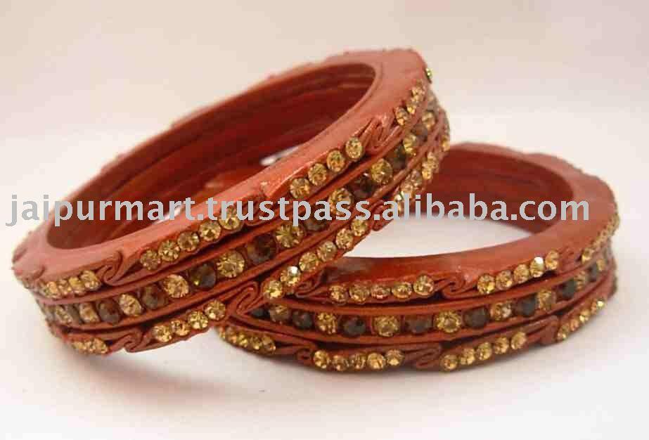 Indian Wedding crystal Lakh lac bangles